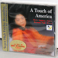 COSMO VILLAGE GOLD CD R-660116: SUGIURA - A Touch Of America - OOP 1996 JAPAN SS