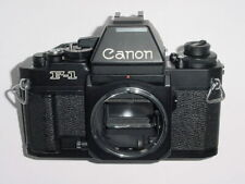 Canon F-1n 35mm Film SLR Manual Camera Body with AE Prism ** almost mint
