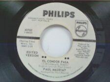 "PAUL MAURIAT ""EL CONDOR PASA /ETUDE EN THE FORM OF RHYTHM & BLUES"" 45 MINT PROMO"