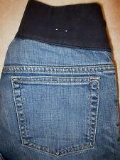 Gap Flare Stretch Maternity Denim Blue Jeans Size 4 R x 30
