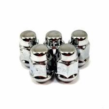 "5x Excalibur 1954 Lug Nuts 1/2"" Bulge Acorn 3/4"" Hex Chrome"