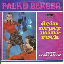 7' Falko Berger > il tuo nuovo mini-Rock/Rosa-Rose Marie < interpop
