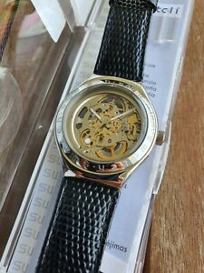 Swatch Irony Body & Soul Automatic Discontinued YAS100 Watch