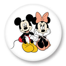 Magnet Aimant Frigo Ø38mm Walt Disney Mickey Mouse Minnie Souris Dessin Animé BD