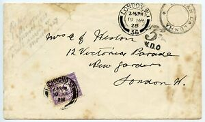 Scarce 1928 envelope from Tristan Da Cuhna to Richmond with 3d postage due.
