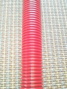 """Split Loom 1"""" X 6' Tubing red Auto Wire & Hose Cover + Audio, Video, Cords"""