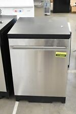 """Ge Gpt225Sslss 24"""" Stainless Portable Fully Integrated Dishwasher Nob #113323"""