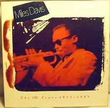 MILES DAVIS The Complete CBS Years 1955-1983 BOX 5 LP . Unplayed