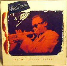 MILES DAVIS The Complete CBS Years 1955-1983 BOX 5 LP . Unplayed