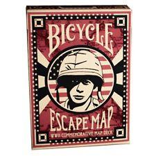 CARTE DA GIOCO BICYCLE  ESCAPE MAP,poker size