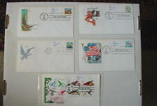 1985-88 Lot of (5) First Day COVERs Scott#s 1863, 2278, 2282, 2283, & 3225 ++VF+