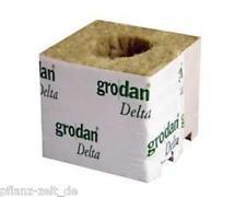 1x Grodan Kulturblock 7,5x7,5x6,5cm kleines Loch / Grow Anzucht Steckling