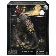 Star Wars Black Series JABBA'S RANCOR PIT 6 figures! Luke Leia C3PO Jabba Guard
