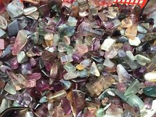 Bulk Tumbled Bulk  Mini Fluorite Gemstones, 1/2lb Healing Reiki Gems ~ wholesale