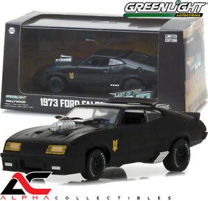 GREENLIGHT 86522 1:43 1973 FORD FALCON XB MAD MAX INTERCEPTOR BLACK WITH CASE