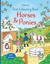 First Colouring Book Horses and Ponies ' Greenwell, Jessica