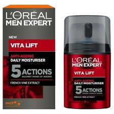 Anti Ageing Moisturiser L'Oreal Anti-wrinkle Men Expert Vita Lift 5, 50 Ml ,New!