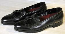 FLORSHEIM BLACK LOAFERS SLIP ON WINGTIP TASSEL DRESS SHOES U.S. MEN'S 10.5 C