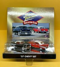 Johnny Lightning Collector Club 1957 57 Chevy Set of 2 Cars