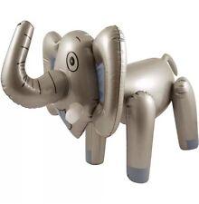65CM INFLATABLE BLOW UP ELEPHANT ANIMAL TOY SAFARI JUNGLE THEME NOVELTY UK
