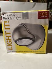Fulcrum Light It Wireless LED Motion Activated Porch Light 20031