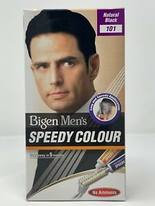 Bigen Men's Speedy Hair Colour (101 - Natural Black)
