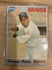Tommie Aaron 1970 Topps Braves Hank's Brother Soft Corner