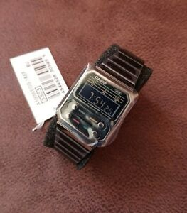 Casio Vintage A100WEGG-1A Retro Style Black Alien Brand New ⚡UPS Express