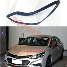 Left Side Headlight Cover Transparent PC + Glue for Chevrolet Cruze 2016~2018