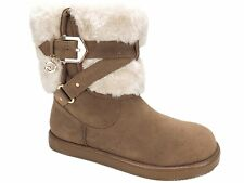 G By Guess Women's Alixa Cold-Weather Boots - Booties Honeyglaze Size 5.5 M