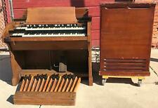 HAMMOND CV ORGAN & LESLIE 21-H ELECTRONICALLY REFURBISHED WATCH VIDEO FREE SHIP