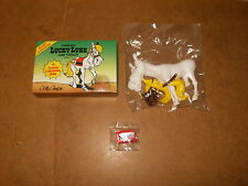 Rare SUJET A MONTER série LUCKY LUKE N° 2 Jolly Jumper - CHEWING GUM MAY 1984