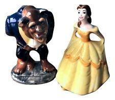 Vintage Walt Disney Beauty And The Beast Belle Porcelain Figurine JAPAN
