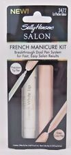 Sally Hansen Salon French Manicure Kit La Peche Glace 3472 *Triple Pack*