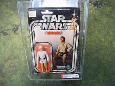 Star Wars Luke Skywalker 12 Back B AFA 80 Kenner NM MOC