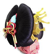 Japanese Katsura Wig size L original OIRAN bridal in geisha style for dance