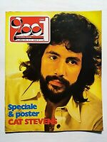RARE CIAO 2001 15-1974 +POSTER CAT STEVENS-AMON DUUL-JEFFERSON AIRPLANE-CURRAN