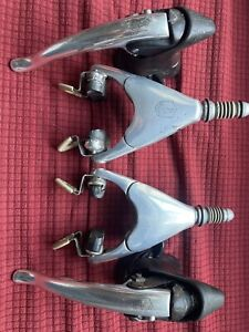 CAMPAGNOLO RECORD DELTA BRAKES WITH SHIFTERS LEVERS