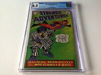STRANGE ADVENTURES 201 CGC 6.5 ANIMAL MAN COSTUME MOD GORILLA BOSS CVR DC COMICS