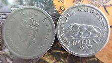 1 Rupee - George VI 1947 Nickel – 11.8 g – ø 28 mm - British india - 1 COIN
