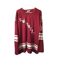 Gwinnett Gladiators Mens Hockey Jersey Size L