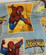 MARVEL SPIDER-MAN Spider Sense Twin Flat Sheet