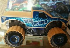 Lowes Build and Grow Monster Jam( 50 pieces case LOT)BLUE THUNDER Truck Wood Kit