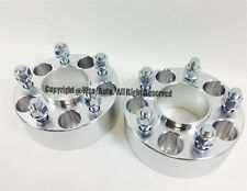 4 Pcs Wheel Spacers Adapters 5X100 57.1 CB 12X1.5 1.5 Inch 38MM For Dodge Chevy