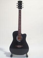 Guitare miniature acoustique noire Bon Jovi