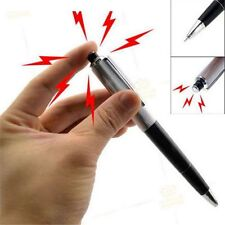 1PCS Electric Funny Gift Prank Shock Ballpoint Working Pen Toy Gag Joke Shocker