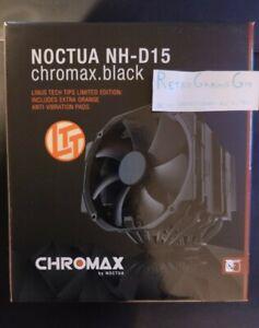 Noctua NH-D15 chromax.black Linus Tech Tips Edition! (Description for more info)