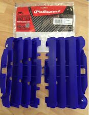 YAMAHA  YZF 450  2007 2008 2009  POLISPORT RADIATOR LOUVRES RAD GUARDS   BLUE