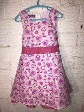 Wonderful Girls Party Dress Love Hearts BNWT Size 5