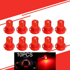 10x T3 Neo Wedge LED Bulb Cluster Instrument Lamp Dashboard Gauge Light RED